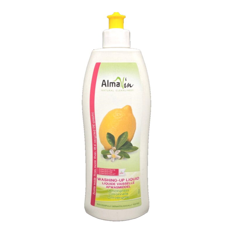 Almawin Washing-Up Liquid Lemongrass 500ML