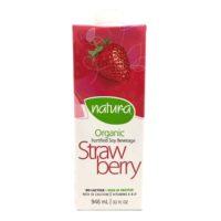 Natur-A Organic Soy Beverage - Strawberry 946ml Canada