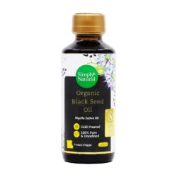 Simply Natural Organic Black Seed Oil